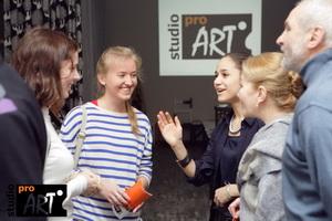 """Открытие изо школы """"ПроАрт"""" в новом помещении и выставка работ учеников"""
