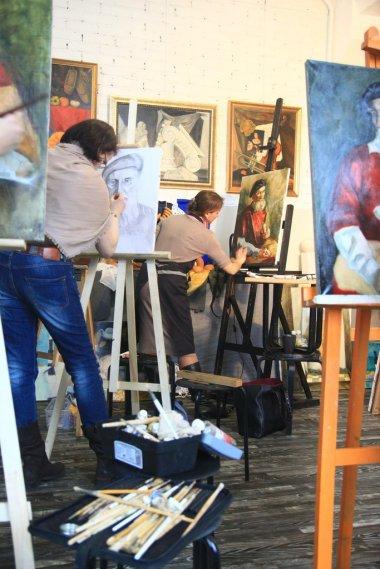 Рисуем в школе изобразительных